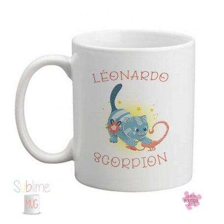 mug signe scorpion