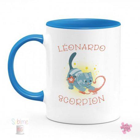 mug scorpion prenom
