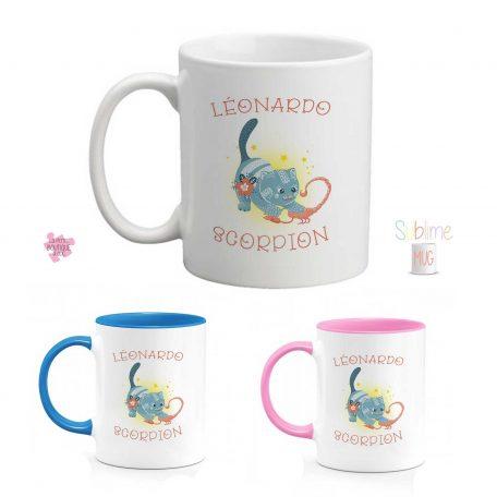 mug signe astrologique scorpion prenom