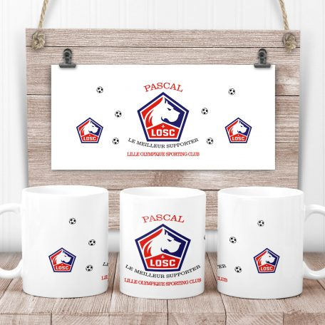 mug LOSC Lille Olympique Sporting Club