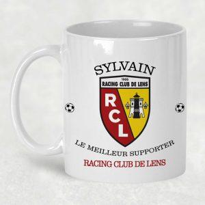 mug RC lens prénom