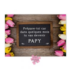 puzzle annonce grossesse papy