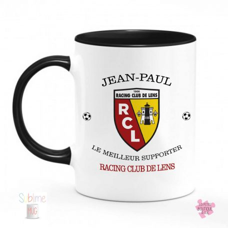 tasse supportrice rc lens