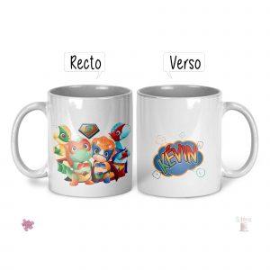 mug dinosaure prénom