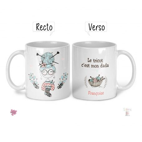 mug pour tricoteuse