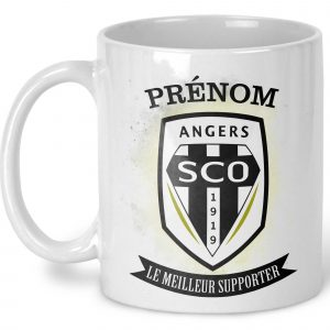 mug foot anger personnalisé avec un prénom
