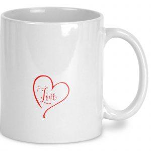 Mug – Je t'aime personnalisé prénom | cadeau saint valentin