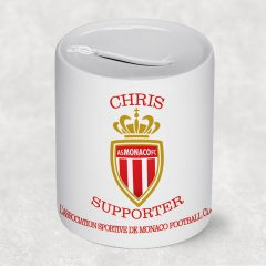 tirelire supporter foot monaco